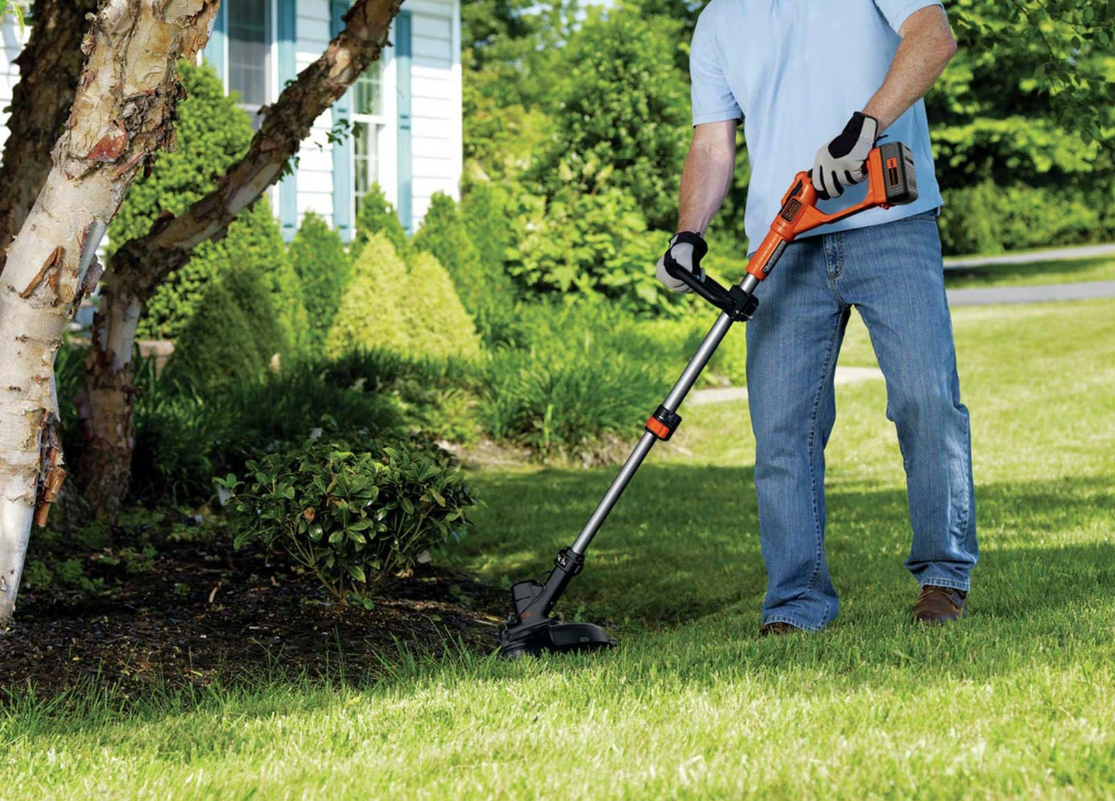 Black Decker Battery Powered Weed Eater
