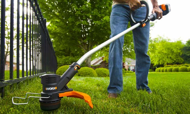 Worx battery powered weed eater